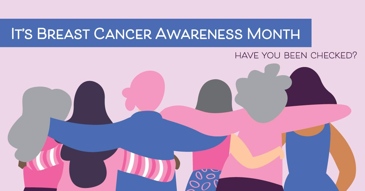 It's Breast Cancer Awareness Month. Have you been checked?